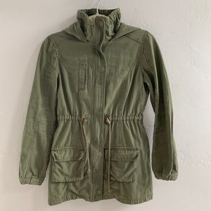 Cotton On Jackets & Coats - Cotton On Army Green Military Style Jacket XS